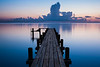 The Dock Before Sunrise, Bayview TX
