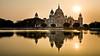 Victoria Memorial Sunset, Kolkata India