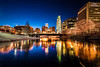 Wide Ice Reflections, Omaha NE