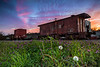Colorful Caboose Revisited, Nacogdoches TX