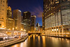 Chicago River from Michigan Ave, Chicago IL