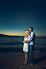 """Blue Engagement, Stateline NV<br /> <br /> After the rehearsal dinner we took a moment to get a few engagement style photos with Jeff and Mary.  We didn't do the traditional engagement photos since this was a destination wedding at Lake Tahoe, so I'm glad we took a few minutes to make some photos on the beach after the rehearsal.  <br /> <br /> Everywhere you go in Tahoe they have stickers reading """"keep Tahoe blue,"""" so I've done my best to keep these photos blue too!  Jeff and Mary have a very fashion look and cold colors are really """"in"""" in fashion photography, with a lot of cyan.  I've been loving the matte finish and film grain look too, it has a more nostalgic feel to me.  Jeff and Mary were lit with a bounce umbrella with three speedlights to the camera left.<br /> <br /> Montana wedding photography by Billings Montana wedding photographer Paul Bellinger.  An artistic vision for dramatic fine art photography as unique as your love story.  How do you dream of being photographed?  Contact Billings Montana wedding photographer Paul Bellinger for any wedding destination.   <a href=""""http://www.paulbellinger.com"""">http://www.paulbellinger.com</a><br /> <br /> Critiques are always welcome.<br /> <br /> Daily photo: August 26, 2013, taken Aug 9, 2013"""